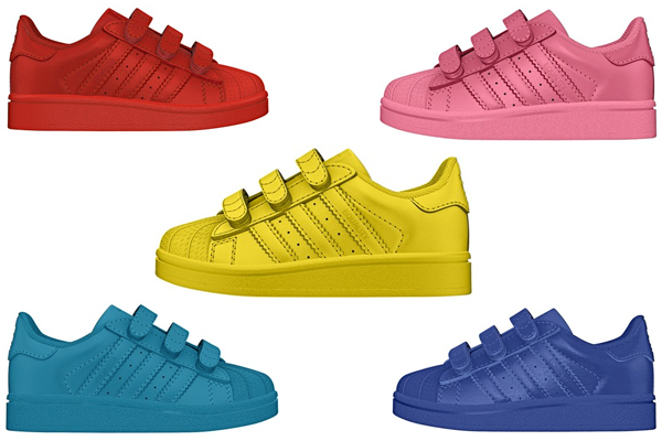739342e5b Now Available  Pharrell Williams X Adidas Supercolor Collection… For Kids!