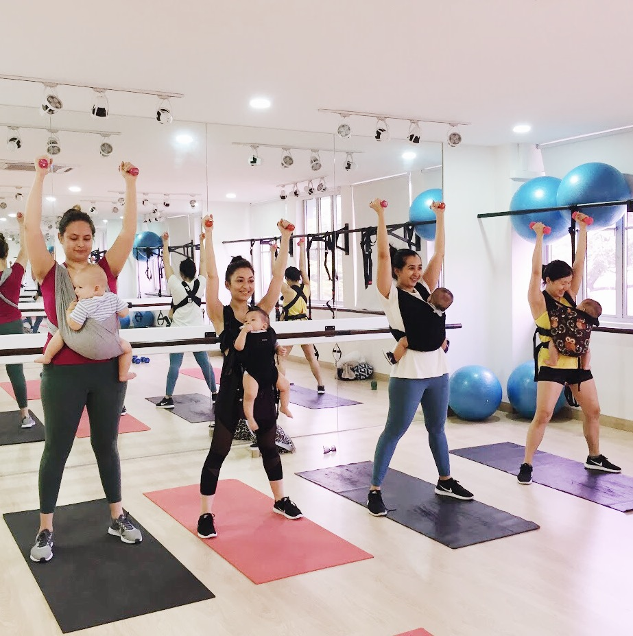 B Studios - Fit for Pregnant Women and Mothers with Kids - Makchic