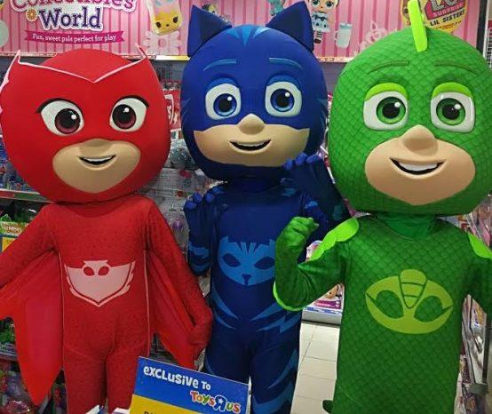 Meet the PJ Masks and Robocar Poli!