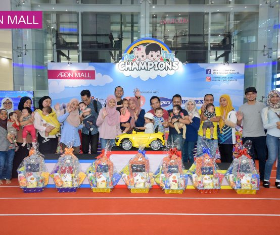 Be a Tiny Champion at AEON MALL Ipoh Station 18