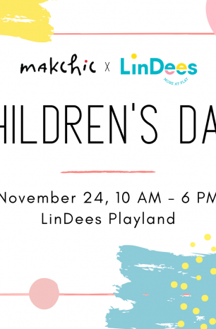 Right to Play: makchic x LinDees Children's Day PlayDate